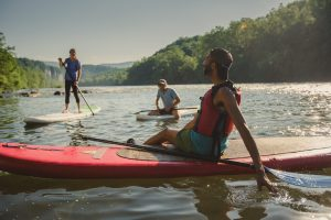 Paddle on the fifth oldest river in the world with Tangent Outfitters in Pembroke. The river, lined with cliffs, rock outcrops and train tracks, is truly stunning! The occasional beaches allow for great picnic and camping spots. Giles County, Virginia