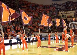 Virginia Tech versus North Carolina basketball, ACC sports, Cassell Coliseum