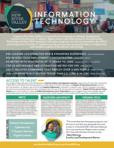 NRV Targeted Industry Brochure, Information Technology