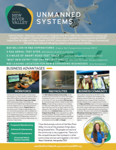 NRV Targeted Industry Brochure, Unmanned Systems