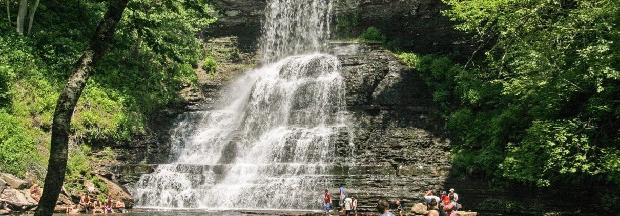 NRV named Best of the Mountains, Favorite Waterfall, The Cascades