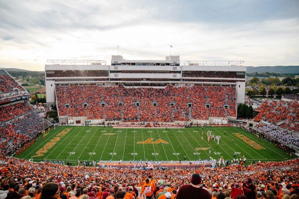 Virginia Tech Football 1 Most Electric Entrance Virginia S New River Valley