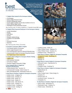 Virginia Aerospace Rankings