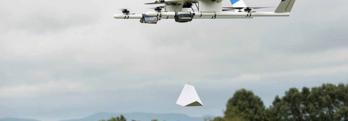 Project Wing Delivery, First Commercial Drone Delivery in US