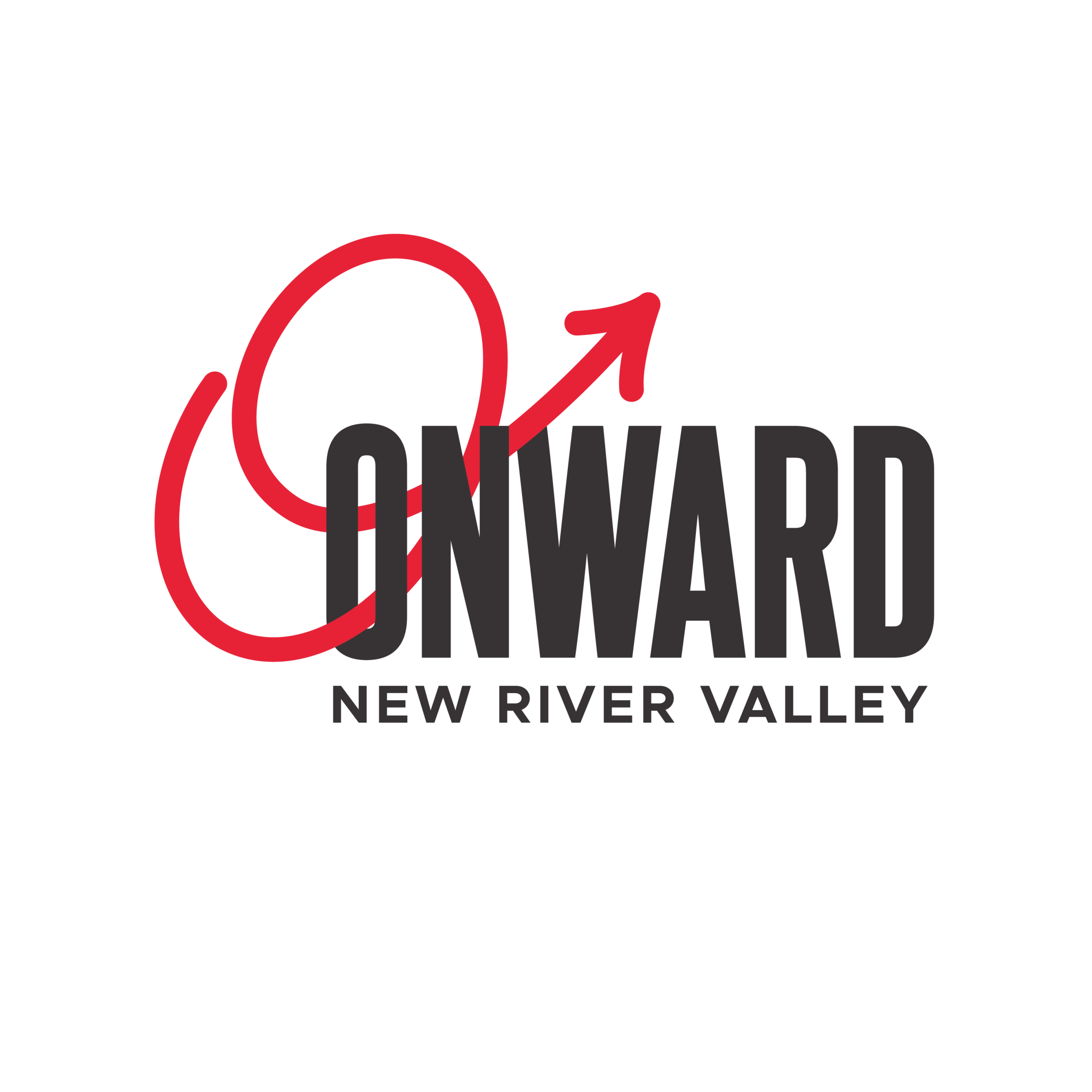 Onward New River Valley Logo