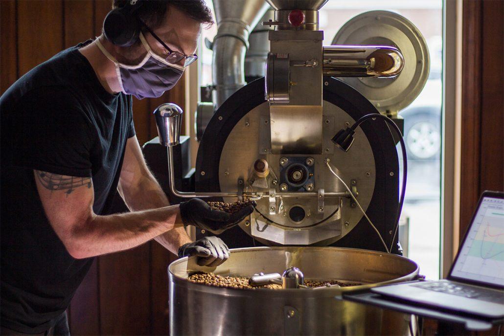 Brugh Coffee NRV Coffee Roasters