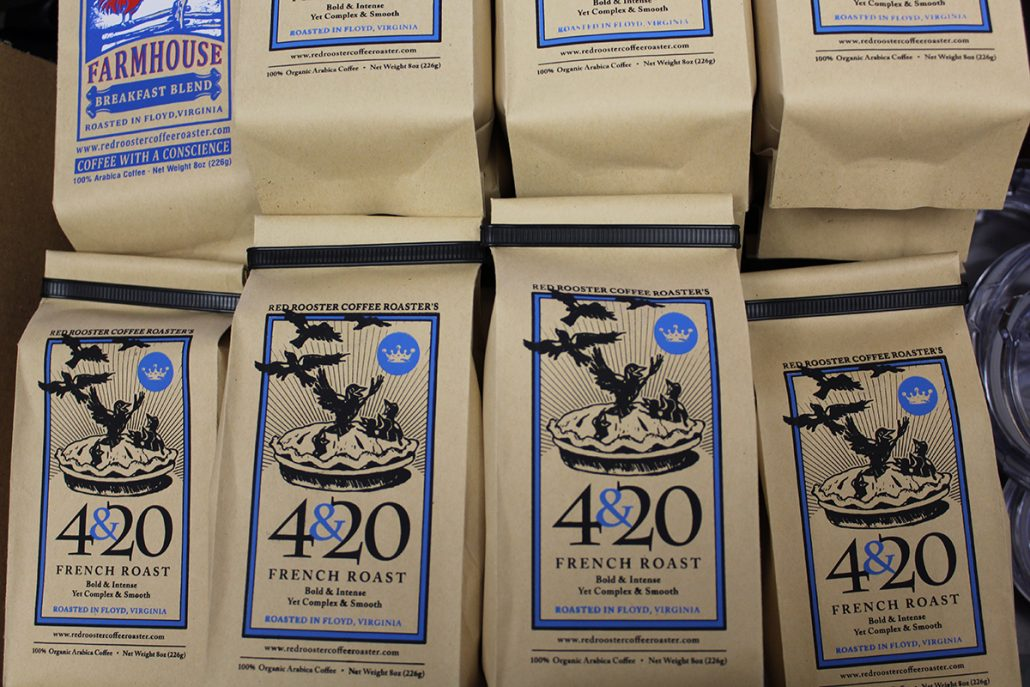 Red Rooster Coffee NRV Coffee Roasters