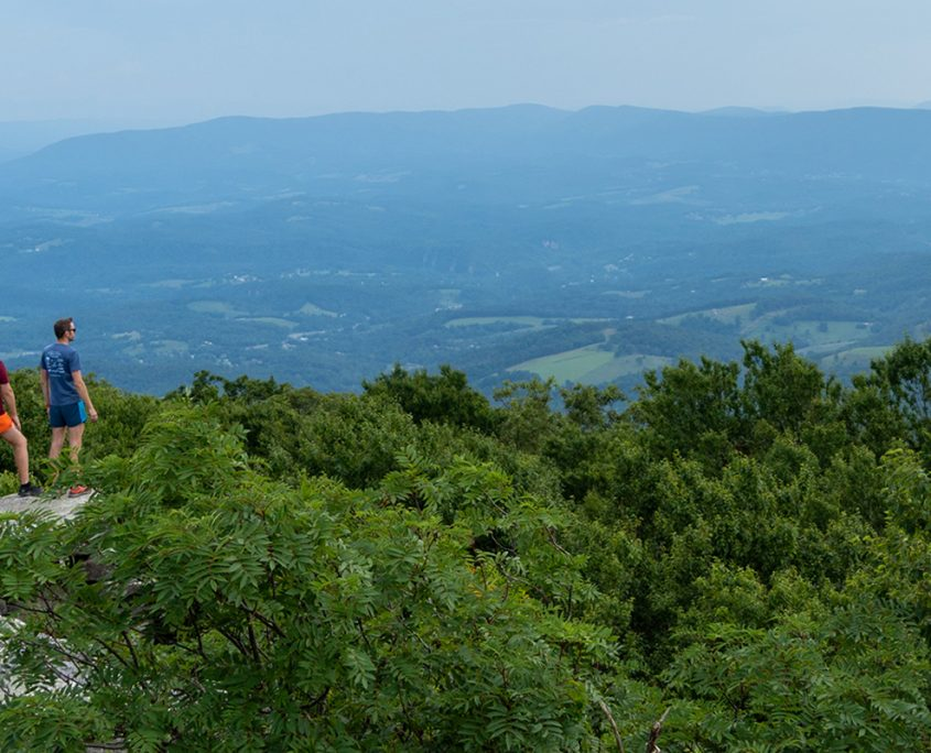 Outdoors in the NRV Bald Knob Trail