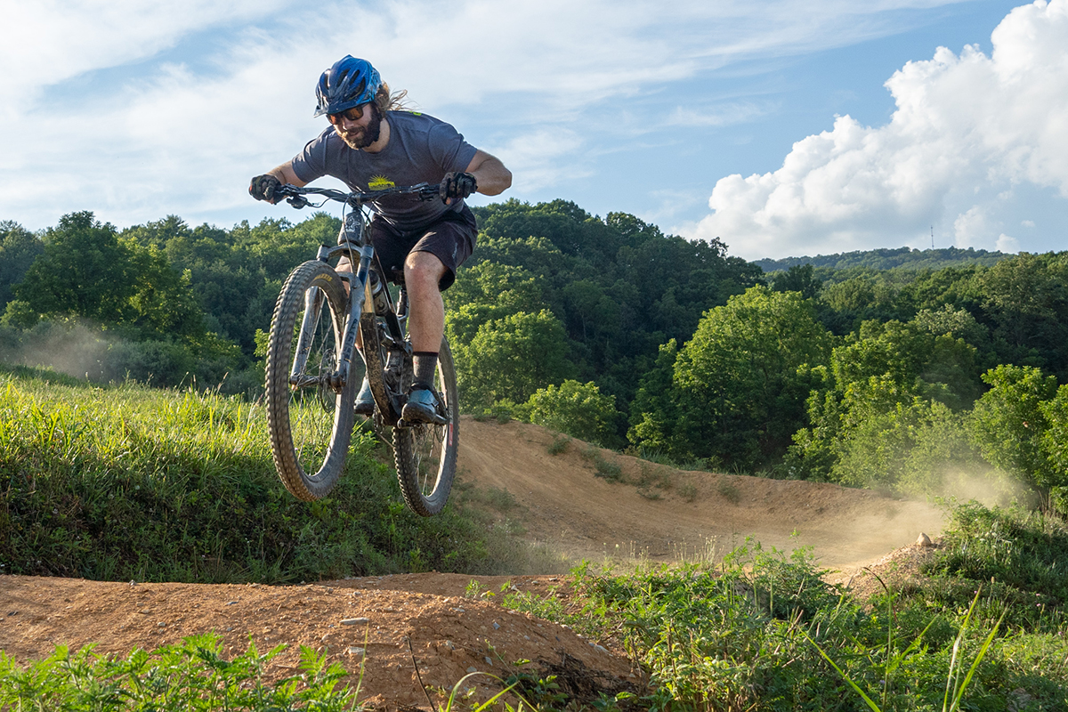 Outdoors in the NRV Mountain Biking