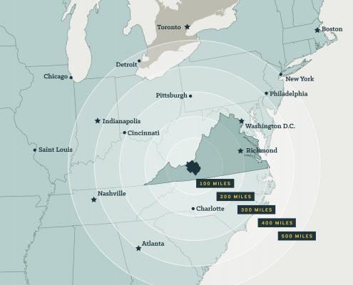 NRV National Distance Map