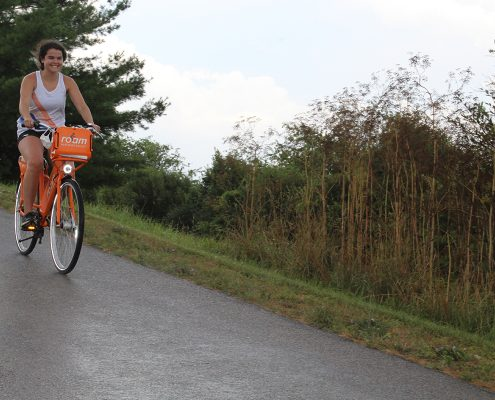 NRV Experience Internship Program Biking the Huckleberry Trail