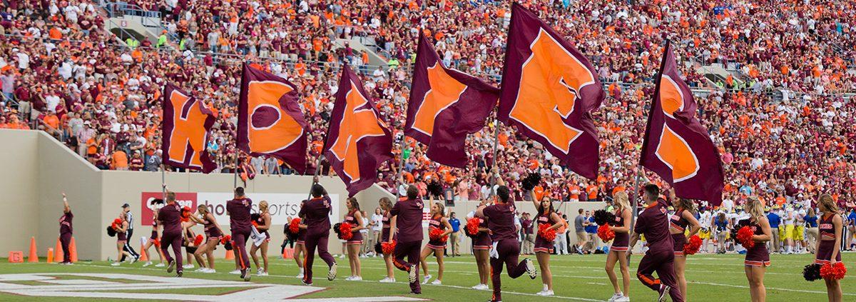 Lane Stadium Voted Best Football Stadium in ACC