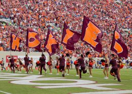 Lane Stadium Voted Best Football Stadium in ACC