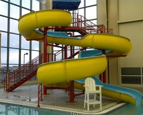 Christiansburg Aquatic Center Slide