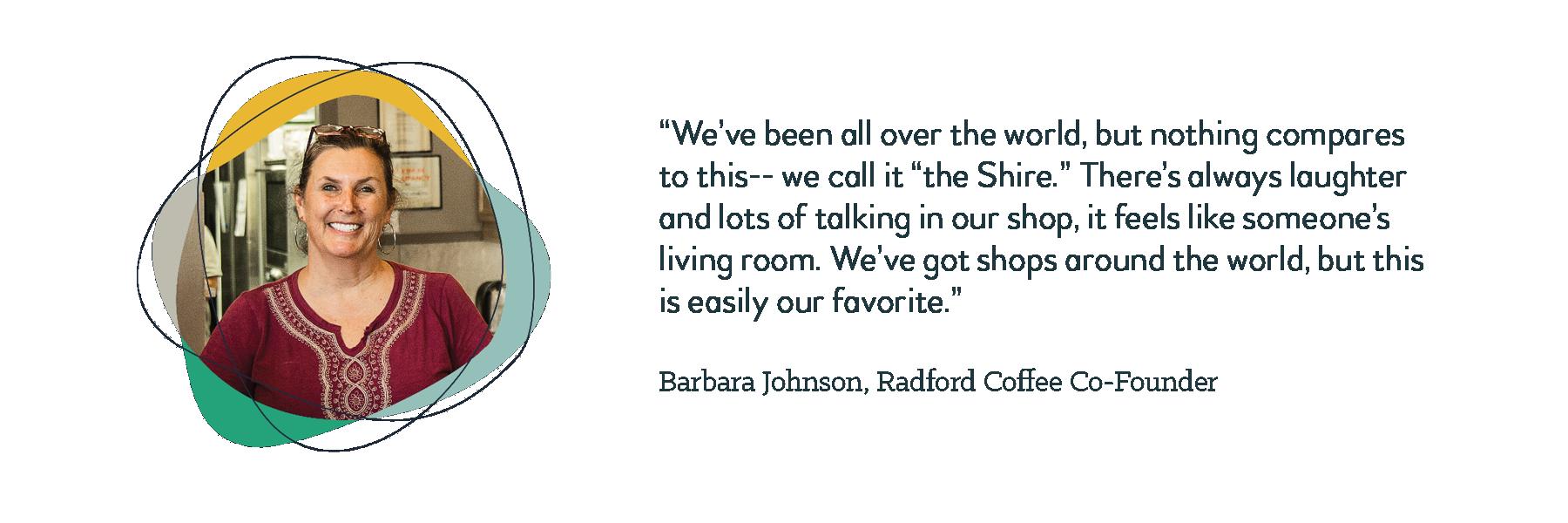 Testimonials Barbara Johnson