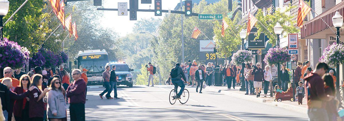 Blacksburg Featured on ESPN's Ultimate College Football Road Trip