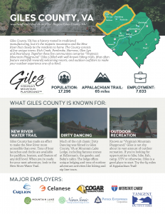 Giles County Community Profile 1 Pager Thumbnail