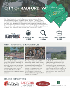 Radford Community Profile 1 Pager Thumbnail